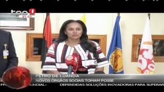 Isabel Dos Santos nova presidente da mesa da Assembleia toma posse