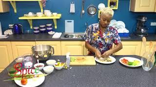 How to make Salt fish & Corn meal Dumplings