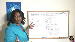 112.  Applications of the Pythagorean Theorem (Saxon Math 8/7) screenshot 4