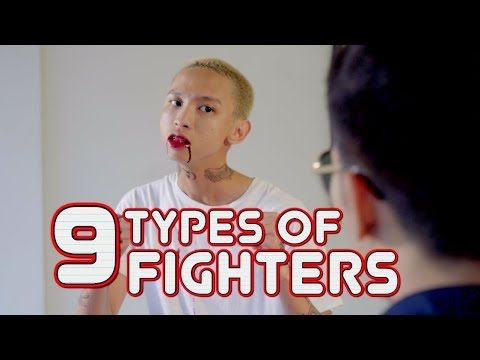 9 TYPES OF FIGHTERS