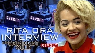 RITA ORA INTERVIEW WITH THE BREAKFAST CLUB POWER 105.1 ()