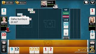 101 Yüzbir Okey Plus #start playing with millions of players all over the world. screenshot 1