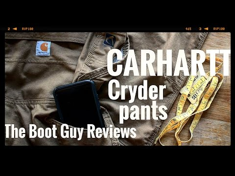 CARHARTT CRYDER DUNGAREE  STYLE #101709 FULL SWING QUICK DUCK [ The Boot Guy Review ]
