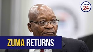 WATCH LIVE: Zuma returns to state capture commission