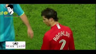 مهارات كرستيانو رونالدو مع مانشستر يونايتد