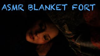 Asmr Blanket Fort || Pillow And Fabric Sounds