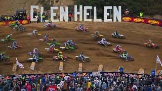 2015 FMF Glen Helen National Race Highlights