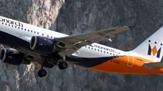 (HD) Dangerous Airports! Gibraltar Airport