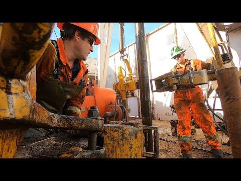 Deep Earth Energy Production Well Border-02 Drilling