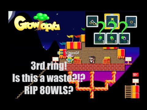 GROWTOPIA - 3RD RING!! WASTE OF WLS?