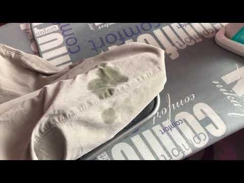 Как легко вывести с одежды  пятна ржавчины