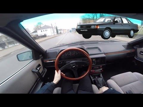 1986 AUDI 100 C3 2.0l POV 1.1