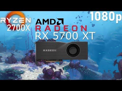 RX 5700 XT + RYZEN 7 2700X [FPS Test in 6 Games] 2019