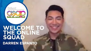 Welcome to the online squad, Darren Espanto! | iWant ASAP Highlights