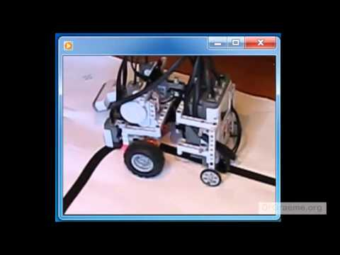 C4 Following The Edge Of A Line Using Lego Mindstorms Ev3