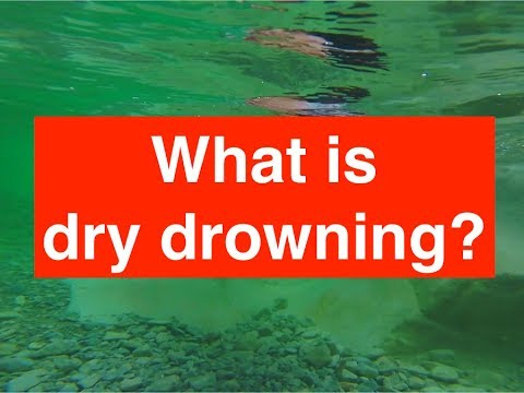 Dry Drowning First Aid