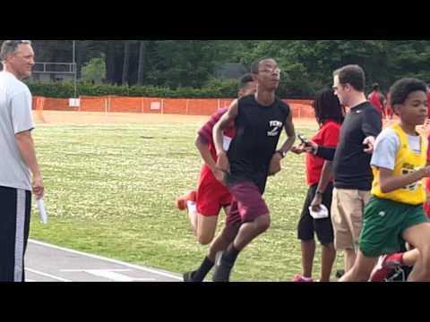 J Track Meet 800m 05/04/2016 Havelock Middle School