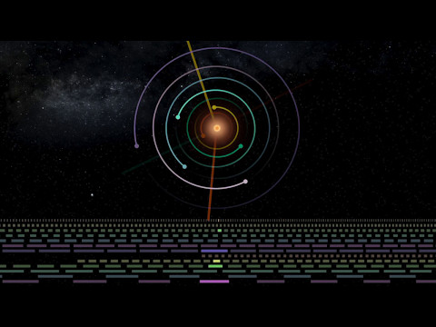 TRAPPIST Sounds : TRAPPIST-1 Planetary System Translated Directly Into Music