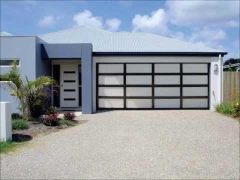 Inspirations Range Of Aluminium Frame Garage Doors Youtube