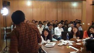 Tiến sĩ Lê Thẩm Dương dạy Kỹ năng bán hàng chuyên nghiệp