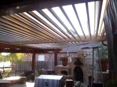 Arcadia Louvered Roof System Youtube