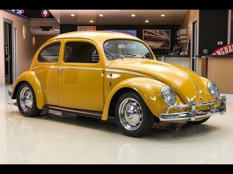 1956 Volkswagen Beetle Oval Window For Sale