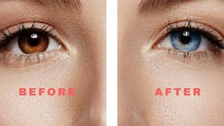 This trick will change the colour of your eyes.. ** IT MAY WORK**