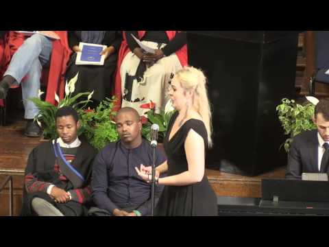 UCT Graduation 2016: 9 June at 10:00 - Faculty of Commerce Ceremony 1