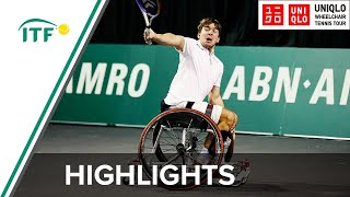 ABN AMRO Wheelchair Tennis Day 1 highlights: De La Puente (ESP) v Sanada (JPN)