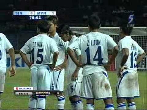 Myanmar walkout vs Singapore : AFF Suzuki Cup 2008