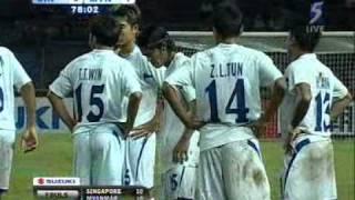 Myanmar walkout vs Singapore : AFF Suzuki Cup 2008