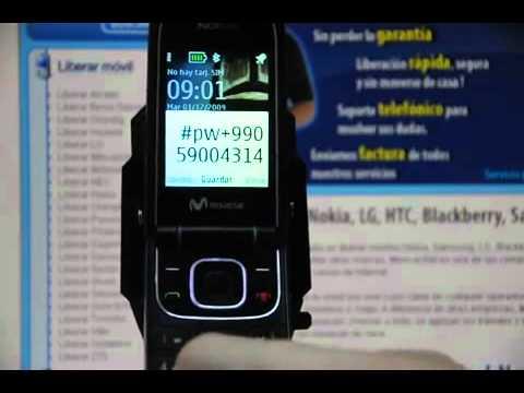 Liberar Nokia 3710 Fold, desbloquear Nokia 3710 Fold de Movistar Movical Net