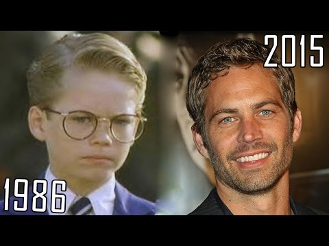 Thumbnail: Paul Walker (1986-2015) all movies list from 1986! How much has changed? Before and Now!