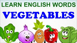 Vegetables Compilation - Pre School - Learn English Words (Spelling) Video For Kids and Toddlers