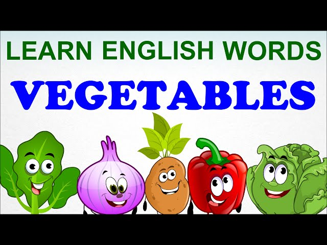 Vegetables Compilation - Pre School  - Learn English Words Spelling Video For Kids and Toddlers
