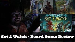 Set A Watch - Kickstarter - Board Game Review