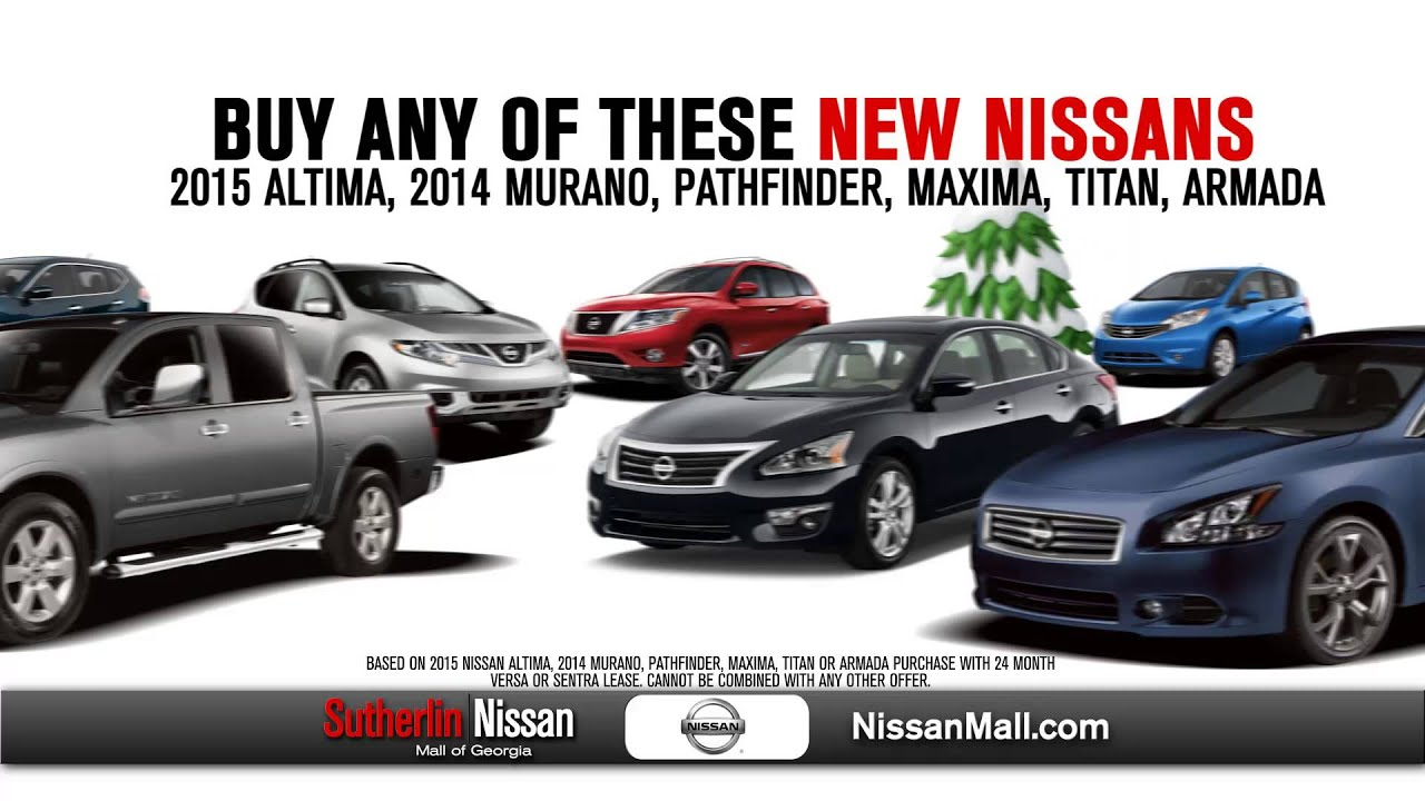 BOGO @ Sutherlin Mall Of GA. Sutherlin Nissan Buford