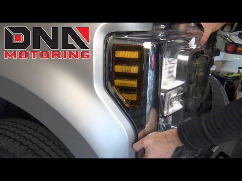 How to Install 17-20 Ford Superduty F250 F350 F450 F550 Headlights
