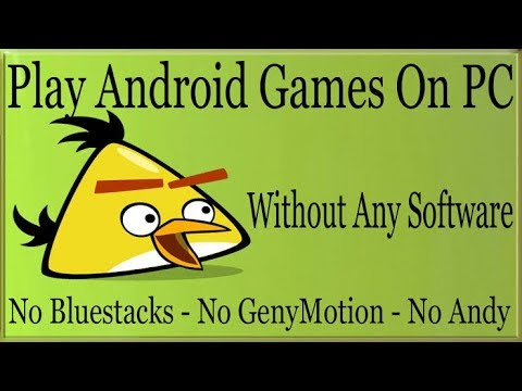 HOW TO RUN ANDROID APPS ON PC!!!!!!!! |  WITHOUT ANY EMULATOR  OR  ARC WELDER!!!!!