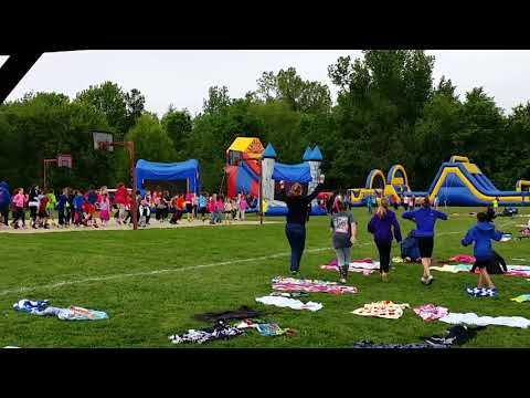 Fun with Spottsville Elementary School in Henderson from spring 2016