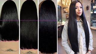 Sie benutzte dieses Heilmittel für einen Monat und ihre Haare wuchsen unglaublich schnell!