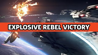 Starfighter Assault Rebel Victory In Star Wars Battlefront 2 Gameplay Debut (Official)