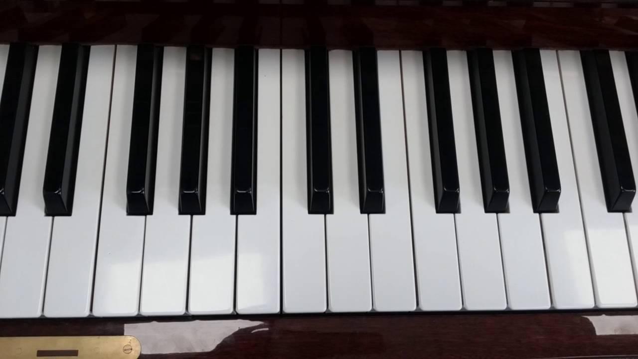 B Flat Chord Piano Chord catalogue...