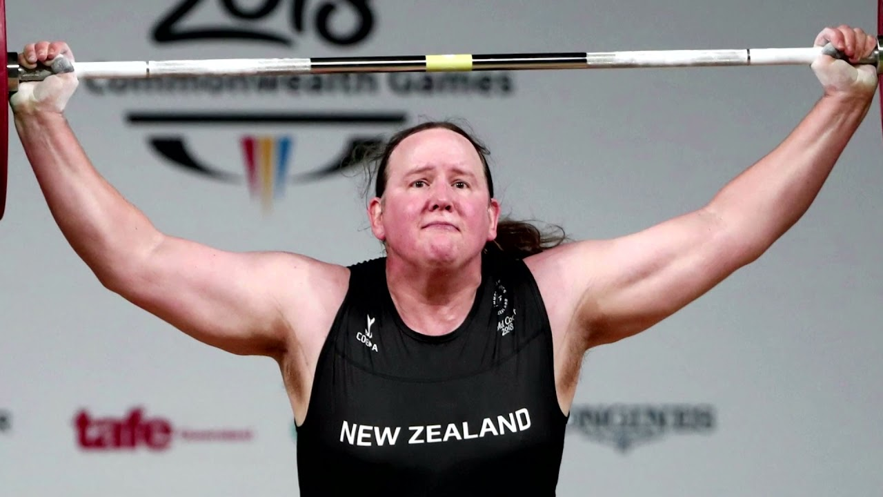 Huge Bioligical Man is Competing Against Women in Weightlifting at The Olympics