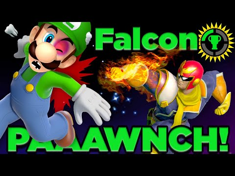 Game Theory: The Deadly Physics of the Falcon Punch! (Super Smash Bros Captain Falcon)