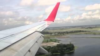 Regent Airways 737 700 landing at Dhaka