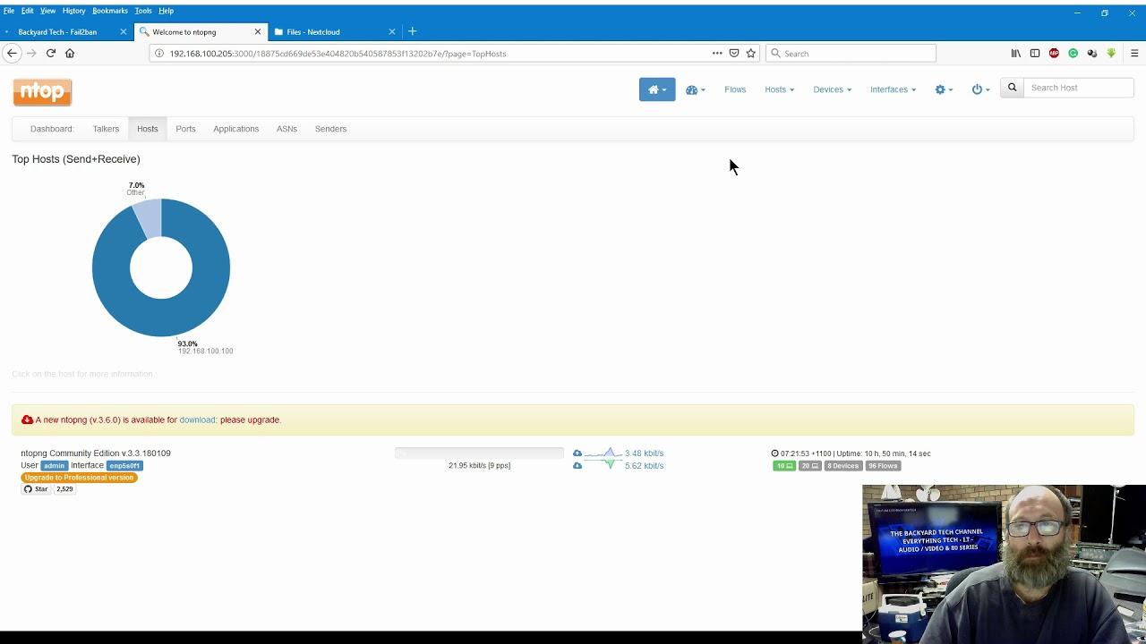 Nethserver - Ntop added as well as Nextcloud - YouTube