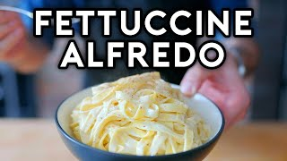 Binging with Babish: Fettuccine Alfredo from The Office