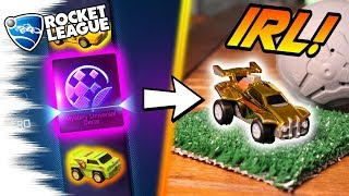 REAL LIFE Rocket League CRATE OPENING! - Every Zag Toys/RARE MYSTERY DECAL Car! (IRL Crates)