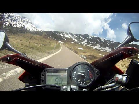 Penserjoch (passo Pennes) 2211m - Honda CBR600F
